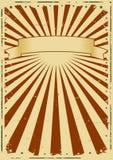 Weinlese-Feiertags-Plakat-Hintergrund Stockbild