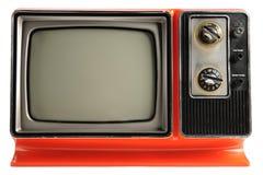 Weinlese Fernsehapparat Stockbilder