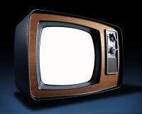 Weinlese Fernsehapparat Lizenzfreies Stockfoto