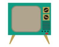 Weinlese Fernsehapparat Lizenzfreie Stockbilder
