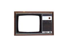 Weinlese-Fernseher lokalisiert Stockfotografie