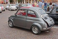 Weinlese Fiat 500 Abarth Lizenzfreie Stockfotos