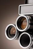 Weinlese-Film-Kamera Stockfotografie