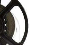 Weinlese-Film-Streifen und Spule Lizenzfreie Stockfotos