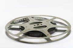 Weinlese-Film-Streifen und Spule Lizenzfreies Stockfoto