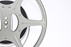 Weinlese-Film-Streifen und Spule Stockbilder