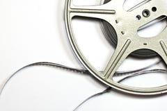 Weinlese-Film-Streifen und Spule Lizenzfreies Stockbild