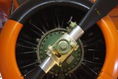 Weinlese-flacher Propeller Stockbilder