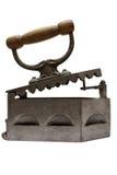 Weinlese-flaches Eisen mit Pfad Stockfotografie