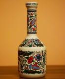 Weinlese-Flasche Stockfotografie