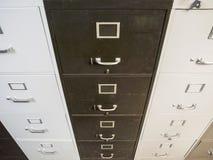 Weinlese-flippige CAB-Dateien Lizenzfreies Stockbild