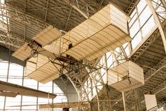 Weinlese-Flugzeug stockfoto