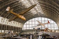 Weinlese-Flugzeug stockbild