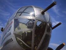 Weinlese-Flugzeug-Wekzeugspritze schießt und Abbrüche Lizenzfreie Stockbilder