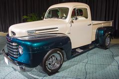 Weinlese Ford in Mint Condition am CIAS 2014 Stockfotografie