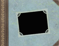 Weinlese-Foto-Album Stockbilder