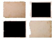 Weinlese-Foto-Papier Lizenzfreies Stockbild