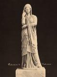 Weinlese-Foto Pudicizia in Vatikan-Museum 1890 Stockbilder