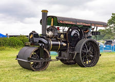 Weinlese Fowler Steam Roller Stockbild