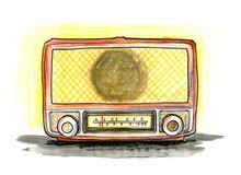 Weinlese-Funk Lizenzfreies Stockfoto