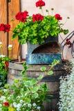 Weinlese-Garten-Dekoration Lizenzfreie Stockfotografie