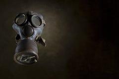 Weinlese-Gasmaske getrennt Lizenzfreie Stockfotos