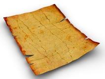 Weinlese gealtertes altes Papier des Hintergrundes Lizenzfreie Stockfotos