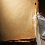 Weinlese gealtertes altes Papier Ursprünglicher Hintergrund oder Beschaffenheit Stockfotografie