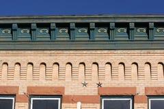 Weinlese-Gebäude-Detail Lizenzfreie Stockfotos
