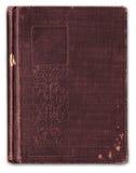 Weinlese geprägtes Bookcover abgedeckt Stockfotografie
