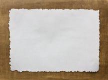Weinlese grunge gebranntes paper1 Stockfotografie