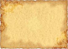 Weinlese Grunge Papier Stockbild