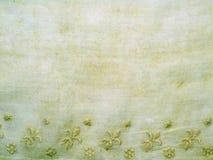 Weinlese hankerchief Stockfoto