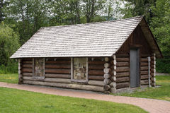 Weinlese-Haus im Pfeifer Lizenzfreies Stockfoto