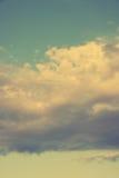 Weinlese Himmel-vertikal Stockfoto