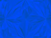 Weinlese-Hippie-geometrischer blauer Muster-Vektor Lizenzfreie Stockfotografie