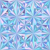 Weinlese-Hippie-nahtloser geometrischer Muster-Hintergrund-Vektor Stockfoto