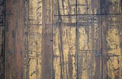 Weinlese-Holzfußboden-Hintergrund-Beschaffenheit Lizenzfreies Stockbild