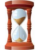 Weinlese Hourglass lizenzfreie abbildung