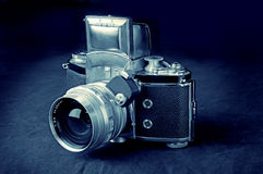 Weinlese-Kamera Lizenzfreies Stockbild