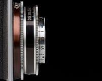 Weinlese-Kameraobjektiv Stockbilder