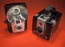 Weinlese-Kameras Stockfoto
