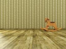 Weinlese-Kind-Raum stockfotos