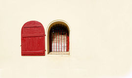 Weinlese-Klassiker-Fenster lizenzfreies stockfoto