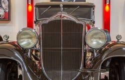 Weinlese klassische Limousine Packard-Licht-acht Stockfotografie