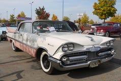 Weinlese-klassisches amerikanisches Auto 50-60Â's Stockbild