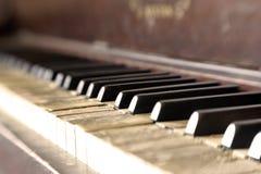 Weinlese-Klavier 04 stockbild