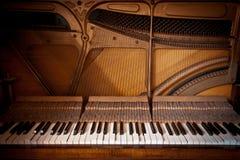Weinlese-Klavier Stockbilder
