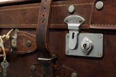 Weinlese-Koffer stockbild