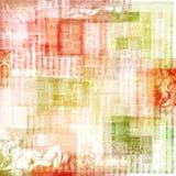 Weinlese-Kunstdruckpapier-Hintergrund Stockfotografie